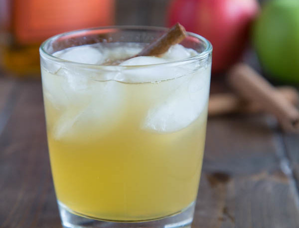 BOURBON-KISSED CIDER